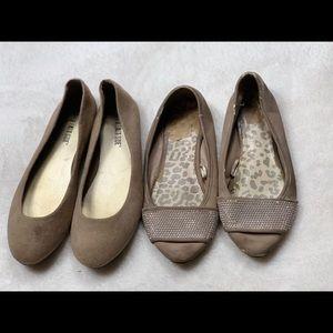 Shoes - Bundle of 2 Flats Size 6.5